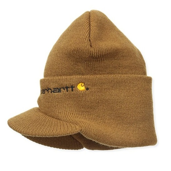 ab9e2412d94 Carhartt Men s Knit Hat With Visor